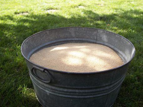 Organic Millet Hulls Bin