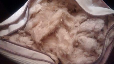 Kapok inside Inner and Outer Pillow Case