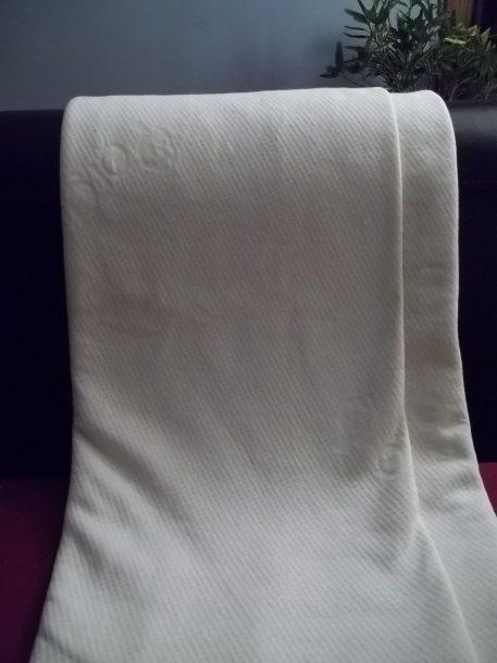 Double Knit GOTS Organic Cotton Fabric Draped