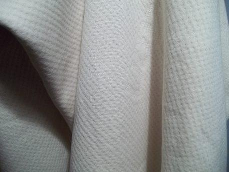 Double Knit GOTS Organic Cotton Fabric Hanging
