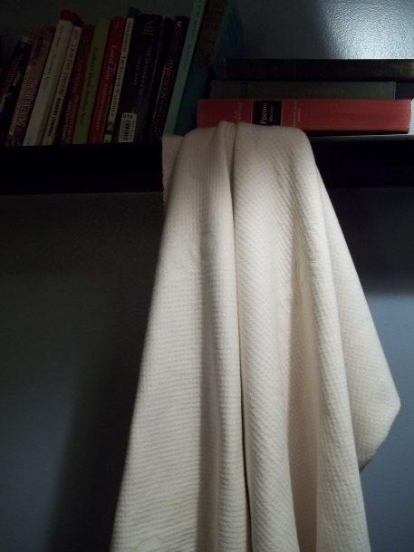 Double Knit GOTS Organic Cotton Fabric Hanging Books