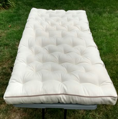 DIY wool mattress