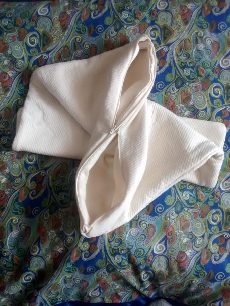 double pocket pillow case