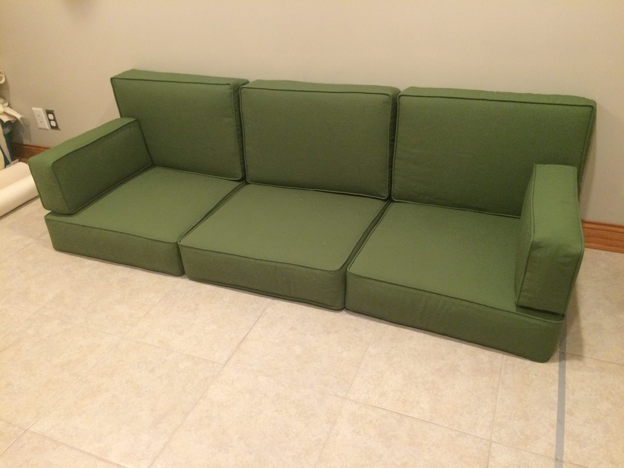 natural latex couch cushion
