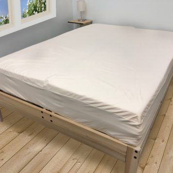 Organic Waterproof Mattress Protector Puddle Pad