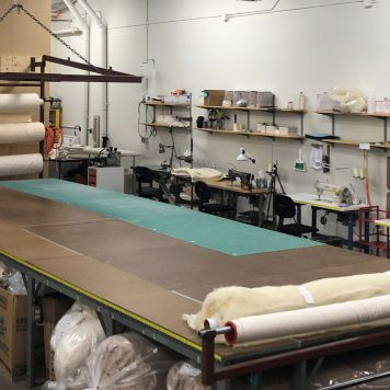 DIY Natural Bedding Sewing Studio